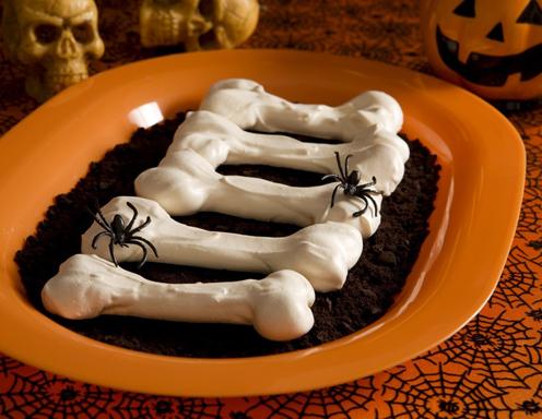 Halloween knochen die schnelle studenten kuche von for Studenten küche